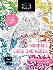Colorful Mandala - Mandala - Liebe und Glück