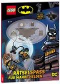 LEGO® DC - Rätselspaß für wahre Helden, m. Minifigur