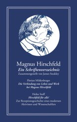 Magnus Hirschfeld: Ein Schriftenverzeichnis