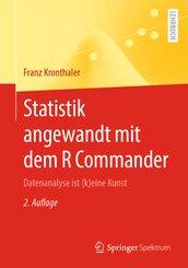 Statistik angewandt mit dem R Commander