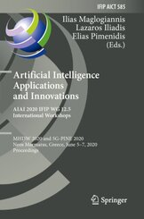 Artificial Intelligence Applications and Innovations. AIAI 2020 IFIP WG 12.5 International Workshops