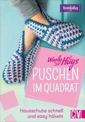 Woolly Hugs Puschen im Quadrat