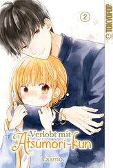 Verlobt mit Atsumori-kun - Bd.2