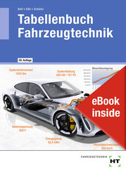 eBook inside: Buch und eBook Tabellenbuch Fahrzeugtechnik, m. 1 Buch, m. 1 Online-Zugang