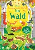 Mein Immer-wieder-Stickerbuch: Im Wald