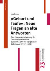 """""""Geburt und Taufe"""": Neue Fragen an alte Antworten"""