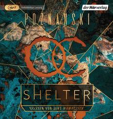 Shelter, 1 Audio-CD, 1 MP3