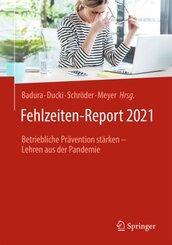 Fehlzeiten-Report 2021
