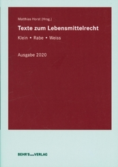 Texte zum Lebensmittelrecht