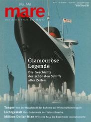 """mare - Die Zeitschrift der Meere / No. 146 / Glamouröse Legende des Schiffs """"Normandie"""""""
