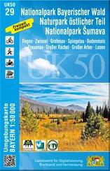 UK50-29 Nationalpark Bayerischer Wald, Naturpark östlicher Teil, Nationalpark Sumava