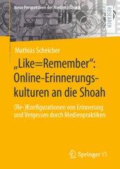 """Like=Remember"": Online-Erinnerungskulturen an die Shoah"