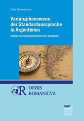 Varianzphänomene der Standardaussprache in Argentinien
