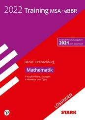 STARK Lösungen zu Training MSA/eBBR 2022 - Mathematik -  Berlin/Brandenburg