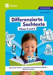 Differenzierte Sachtexte Klasse 3 und 4