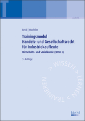 Trainingsmodul Handels- und Gesellschaftsrecht für Industriekaufleute