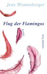Flug der Flamingos