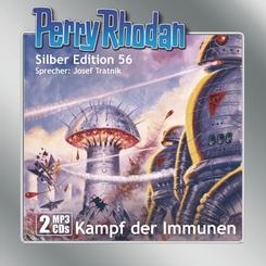 Perry Rhodan Silber Edition (MP3-CDs) 56: Kampf der Immunen, Audio-CD, MP3
