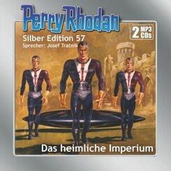 Perry Rhodan Silber Edition (MP3-CDs) 57: Das heimliche Imperium, Audio-CD, MP3