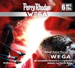 Perry Rhodan Wega - Die komplette Miniserie (6 MP3-CDs), Audio-CD, MP3