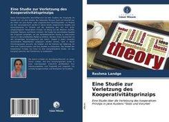 Eine Studie zur Verletzung des Kooperativitätsprinzips