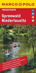 MARCO POLO Freizeitkarte Deutschland Blatt 20 Spreewald, Niederlausitz