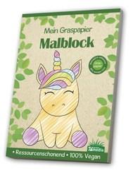 Malblock GraspapierKleinkind / Einhorn
