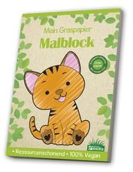 Malblock GraspapierKleinkind / Katze