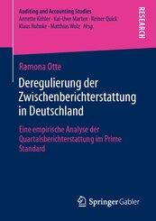 Deregulierung der Zwischenberichterstattung in Deutschland