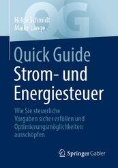 Quick Guide Strom- und Energiesteuer
