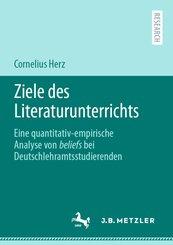 Ziele des Literaturunterrichts