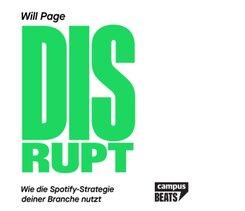 Disrupt, Audio-CD