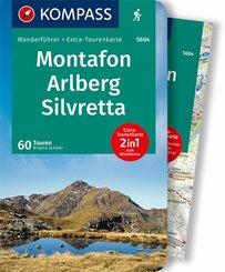 KOMPASS Wanderführer Montafon, Arlberg, Silvretta