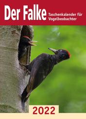 Der Falke-Taschenkalender für Vogelbeobachter 2022