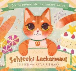 Schlecki Leckermaul, 2 Audio-CD