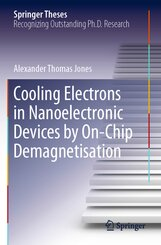 Cooling Electrons in Nanoelectronic Devices by On-Chip Demagnetisation