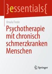 Psychotherapie mit chronisch schmerzkranken Menschen