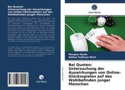 Bei Quoten: Untersuchung der Auswirkungen von Online-Glücksspielen auf das Wohlbefinden junger Menschen
