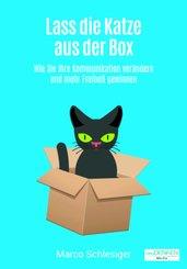Lass die Katze aus der Box