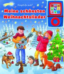 Meine schönsten Weihnachtslieder - Pappbilderbuch und abnehmbarer Musikspieler - Liederbuch mit 15 beliebten Kinderliede