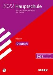 STARK Original-Prüfungen und Training Hauptschule 2022 - Deutsch - Hessen