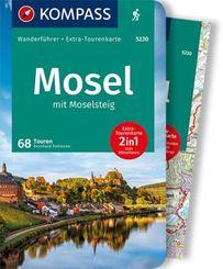 KOMPASS Wanderführer Mosel mit Moselsteig