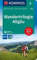 KOMPASS Wanderführer Wandertrilogie Allgäu