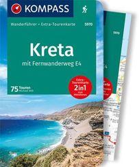 KOMPASS Wanderführer Kreta mit Weitwanderweg E4