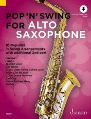Pop 'n' Swing For Alto Saxophone