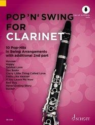Pop 'n' Swing For Clarinet