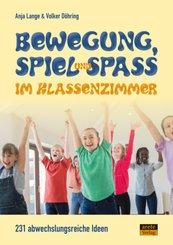 Bewegung, Spiel & Spaß im Klassenzimmer