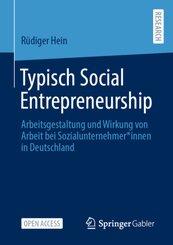 Typisch Social Entrepreneurship