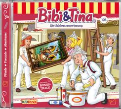 Bibi & Tina - Die Schloßrenovierung, 1 Audio-CD