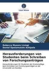 Herausforderungen von Studenten beim Schreiben von Forschungsanträgen